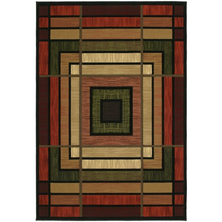 """Ambience Terracotta Area Rug (63"""" X 90"""")"""