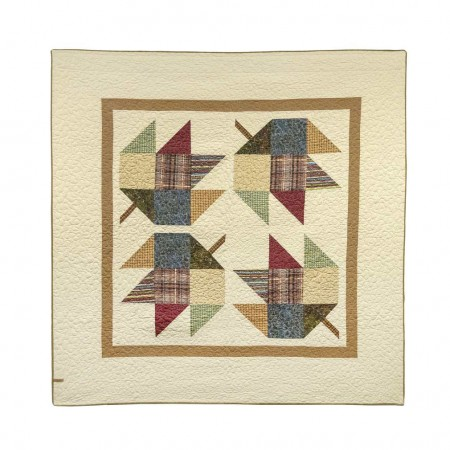 Donna Sharp Maple Leaf Throw - 60 X 60