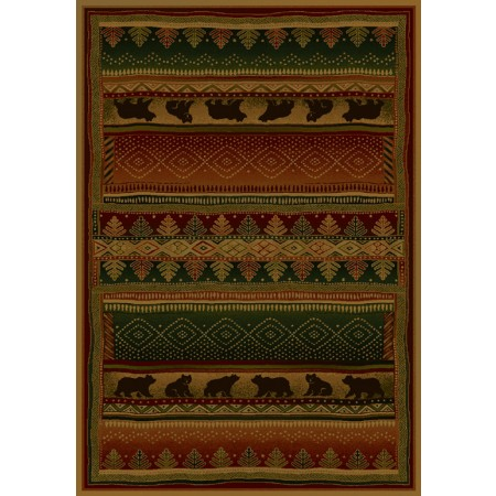 "Bearwalk Lodge Accent Rug (22"" X 36"")"