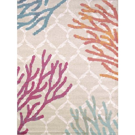 Tropical Reef Area Rug - Coastal Style Area Rug
