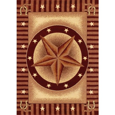 Texas Road Area Rug - Southwestern Style