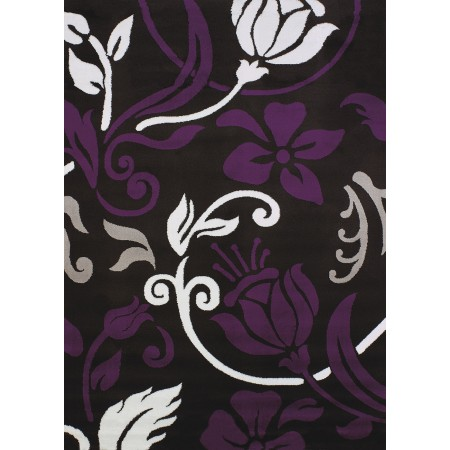 Chivas Plum Area Rug - Transitional Sytle