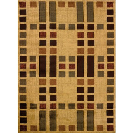 Circuit Amber Area Rug from the Urban Galleries Collection