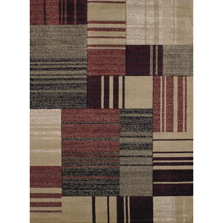 Line Drive Silver Area Rug from the Urban Galleries Collection