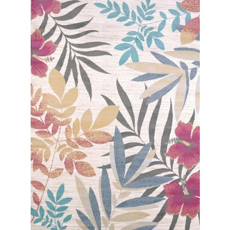 Sea Garden Multi Area Rug - Transitional Style Area Rug
