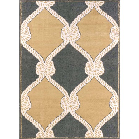 Cordage Harvest Area Rug - Transitional Style Area Rug