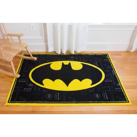 Batman Room Size Rug