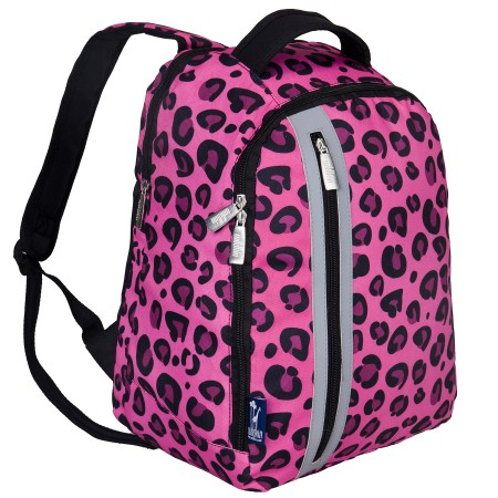 Pink Leopard Echo Backpack
