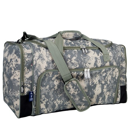 Digital Camo Weekender Duffel Bag