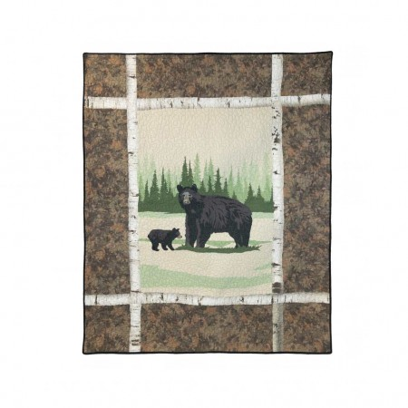 Donna Sharp Birch Bear Throw - 50 X 60 *