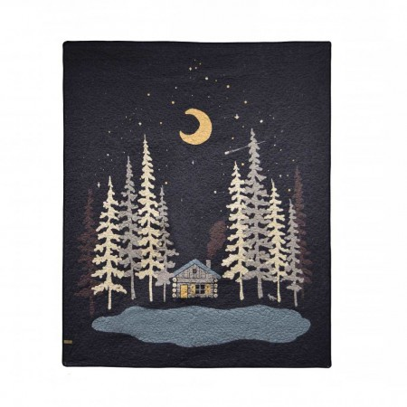 Donna Sharp Moonlit Cabin Throw - 50 X 60