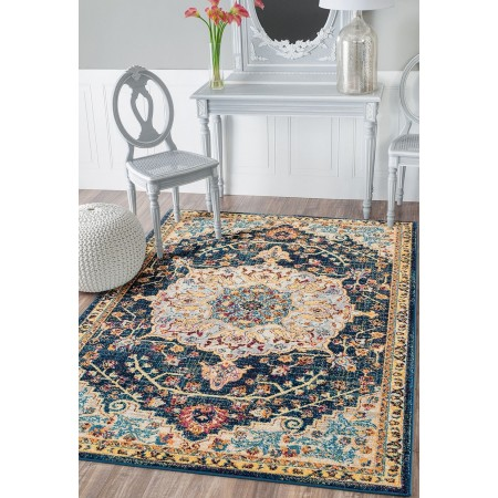 United Weavers Abigail Aviana Blue 12x15 Rug