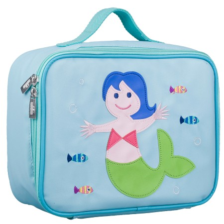 Olive Kids Mermaid Embroidered Lunch Box
