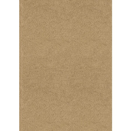 "Brushstrokes Beige Area Rug (63"" X 86"") - Solid Color Area Rugs"