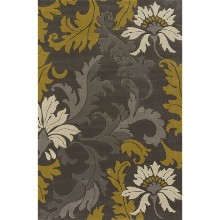 Orleans Grey Area Rug - Transitional Style Area Rug