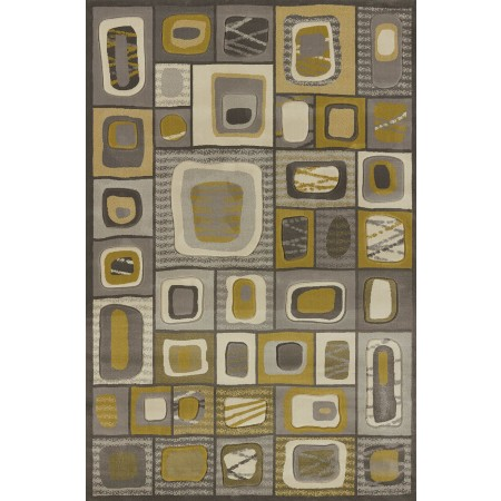 Marrakesh Grey Area Rug - Geometric Style Area Rug