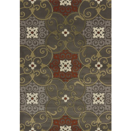 Julep Grey Area Rug - Transitional Style Area Rug