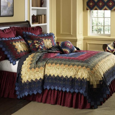 Donna Sharp Chesapeake Trip Deluxe King Size Quilt - 117 X 107