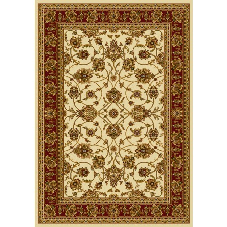 Reza Ivory Area Rug - Traditional Style Area Rug