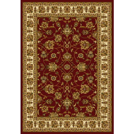 Reza Red Area Rug - Traditional Style Area Rug