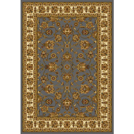 Reza Blue/Grey Area Rug - Traditional Style Area Rug