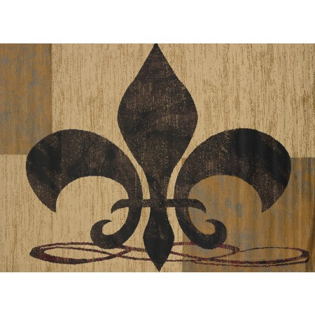 "Valiant Cream Area Rug (23"" X 86"")"