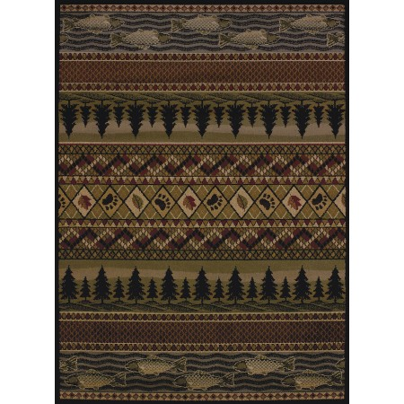 River Ridge Area Rug - Traditional Style Area Rug