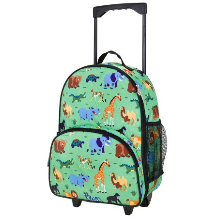 Wild Animals Rolling Luggage