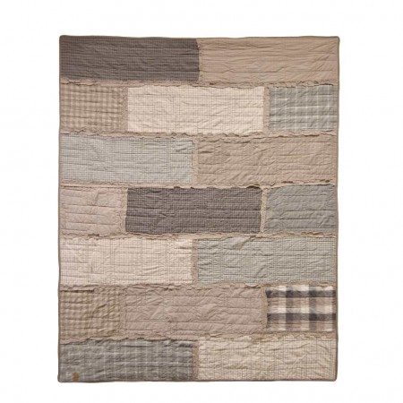 Donna Sharp Smoky Cobblestone Throw - 50 X 60