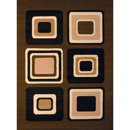 "Spaces Brown Area Rug (23"" X 86"")"