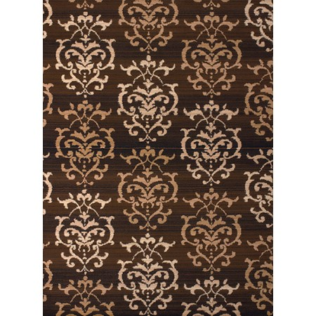 Countess Brown Area Rug - Transitional Style