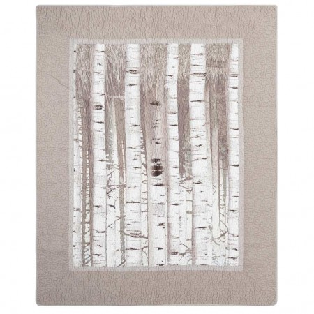 Donna Sharp Birch Forest Throw - 50 X 60