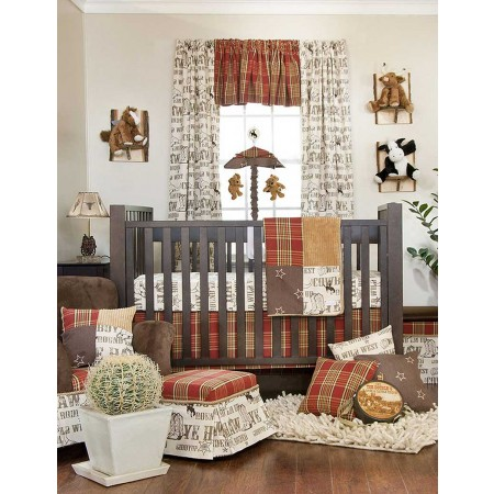 Carson 3 Piece Crib Bedding Set