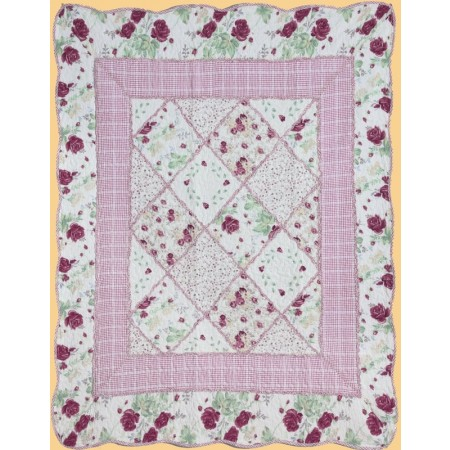 Rosalie Throw Size Quilt