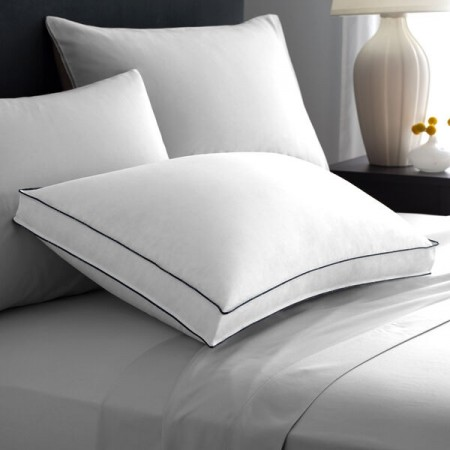 Pacific Coast 100% GOTS Certified Organic Cotton Double DownAround Medium Support Pillow King Size