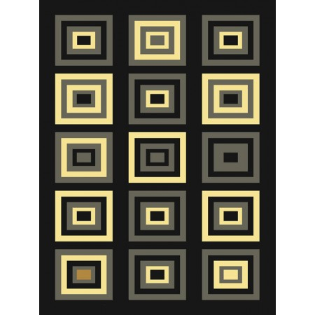 Chronicle Multi Area Rug - Geometric Style Area Rug Area Rug