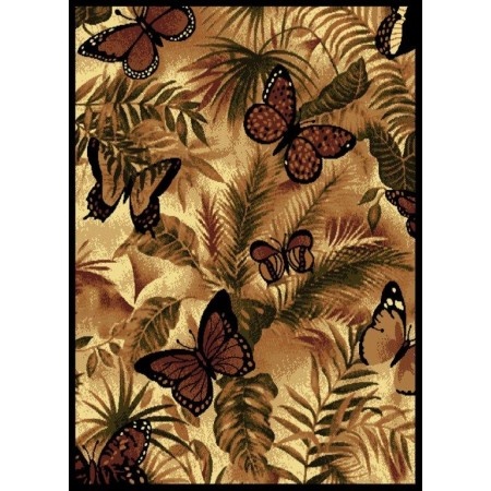 "Butterfly Jungle Area Rug (63"" X 86"")"