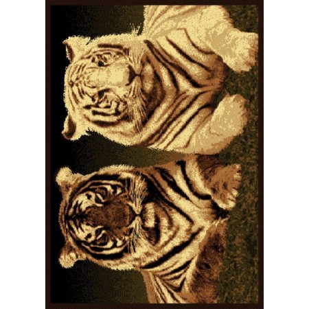 "Tiger Colors Area Rug (63"" X 86"")"