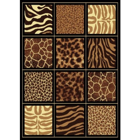 "Safari Square Area Rug (63"" X 86"")"