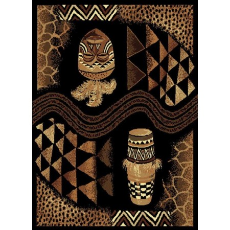 "Voice Of Africa Area Rug (63"" X 86"")"
