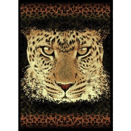 "Leopard Eyes Area Rug (63"" X 86"")"