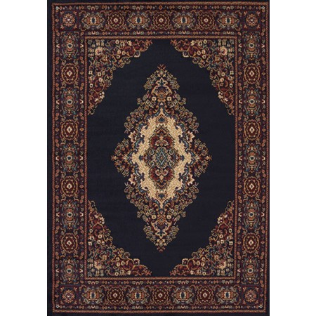 "Cathedral Navy Accent Rug (22"" X 36"")"