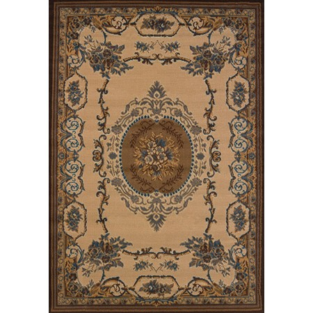 "Lexington Lt Blue Accent Rug (22"" X 36"")"