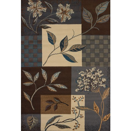 Jasmine Lt Blue Area Rug - Traditional Style Area Rug