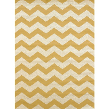 Chevron Harvest Gold Area Rug