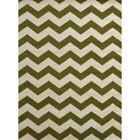 Chevron Avocado Area Rug