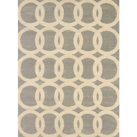 Satin Multi Area Rug - Transitional Style