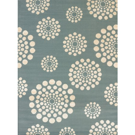 Bombay Blue Area Rug - Modern Style Area Rug Style