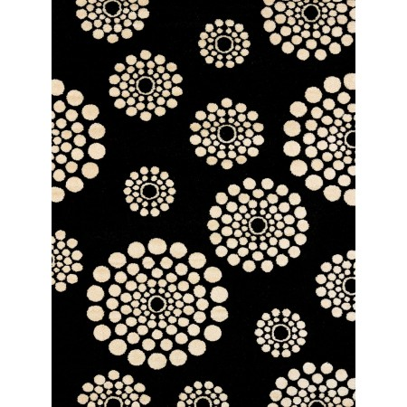Bombay Black Area Rug - Modern Style Area Rug Style