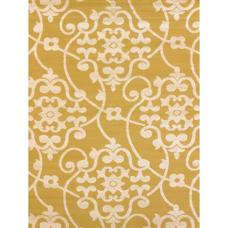 Jardin Harvest Gold Area Rug - Transitional Style Area Rug